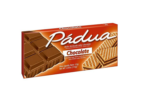 GALLETITAS WAFFER CHOCOLATE 100G